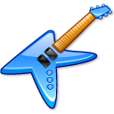 KGuitar crystal blue icon