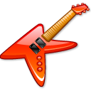 KGuitar crystal red icon
