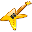 KGuitar crystal yellow icon